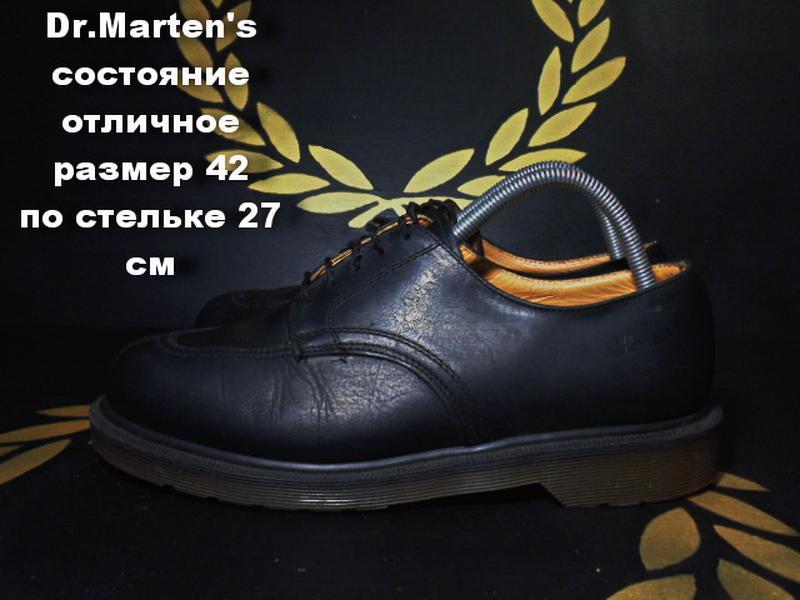 Dr.marten's туфли размер 42