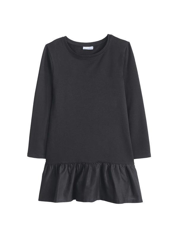 Очень стильное платье 122-128 плотный трикотаж
