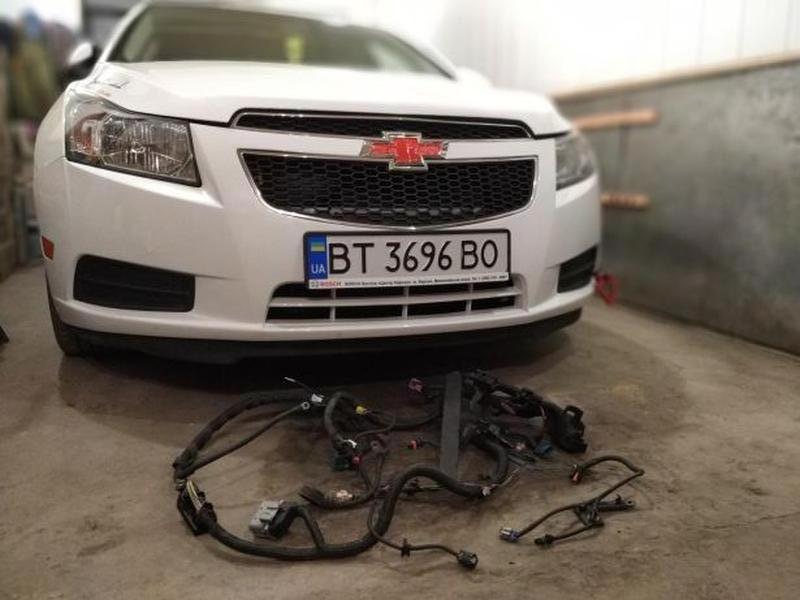 Проводка двигателя Шевроле Круз, Chevrolet cruze