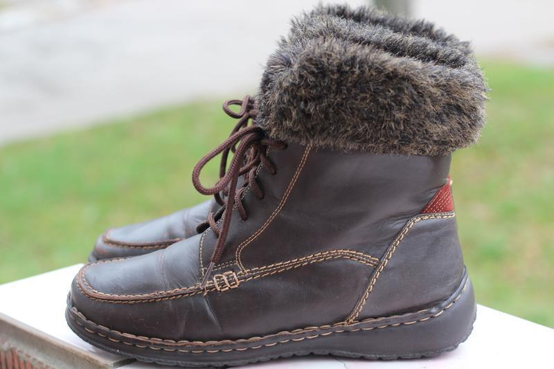 Зимние ботинки easy street 39-40 на меху