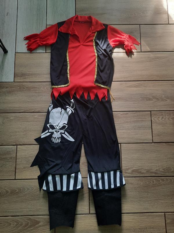 Костюм пират- разбойник 10-13лет