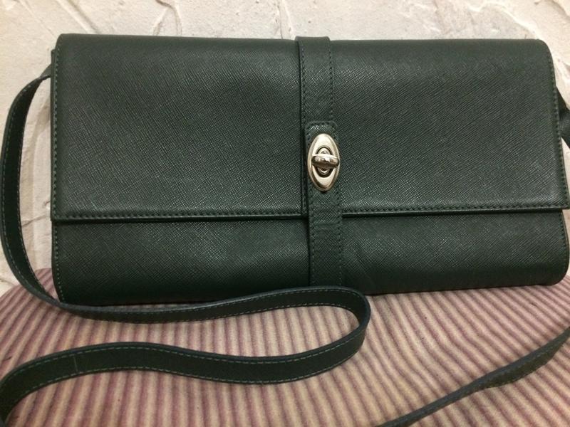 Andrea cardone сумка  клатч 100% кожа италия