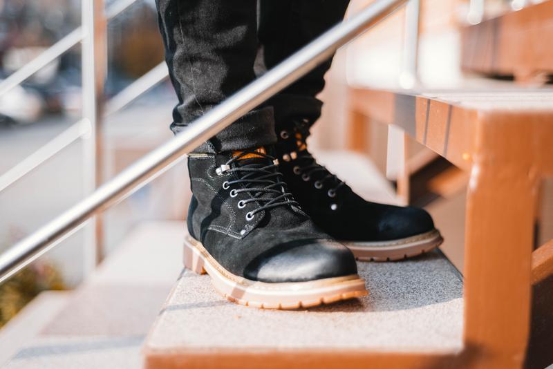 "Ботинки South Forest ""Black"""