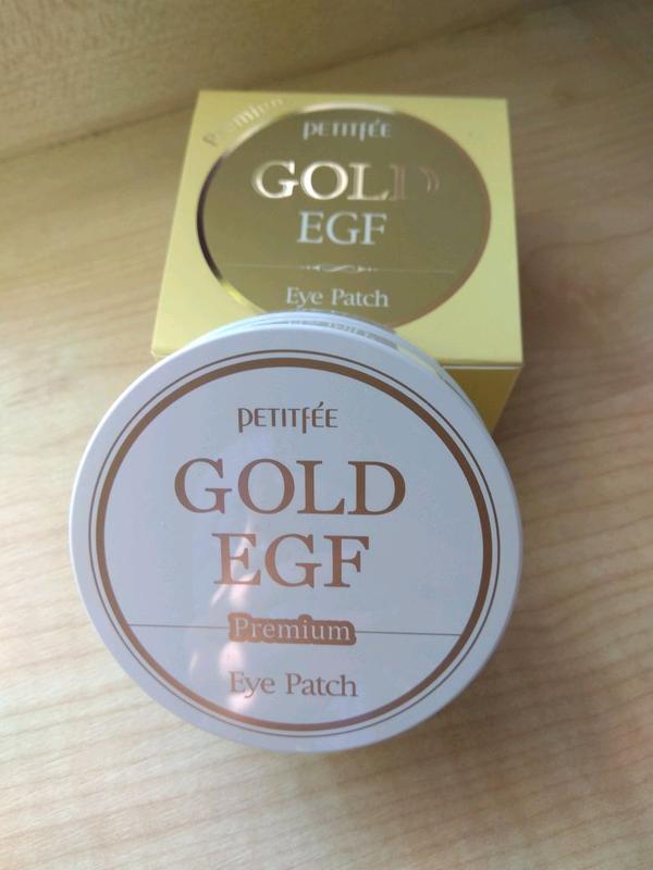 Гидрогелевые патчи Petitfee Premium Gold&EGF Eye Patch (60шт)
