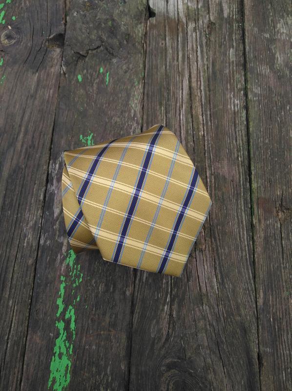 Фирменный галстук краватка оригинальный подарок мужчине - Фото 2