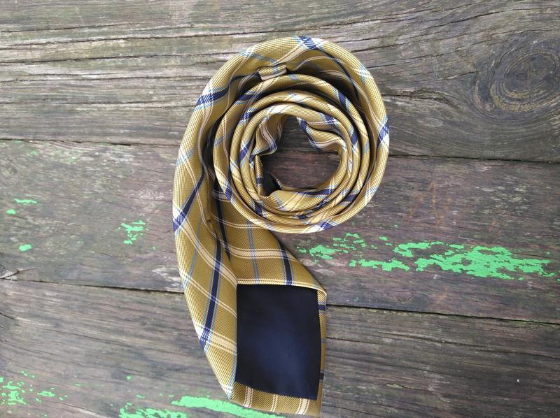 Фирменный галстук краватка оригинальный подарок мужчине - Фото 3