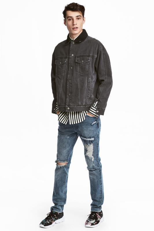 Рваные джинсы h&m premium quality 360° flex slim ! - Фото 2