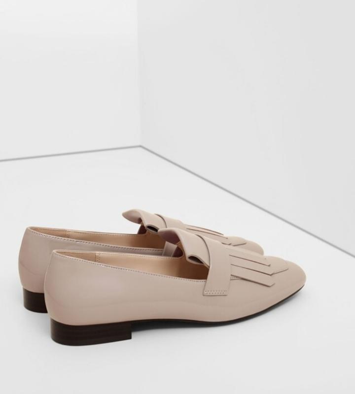 Стильные лоферы, туфли mango p 41