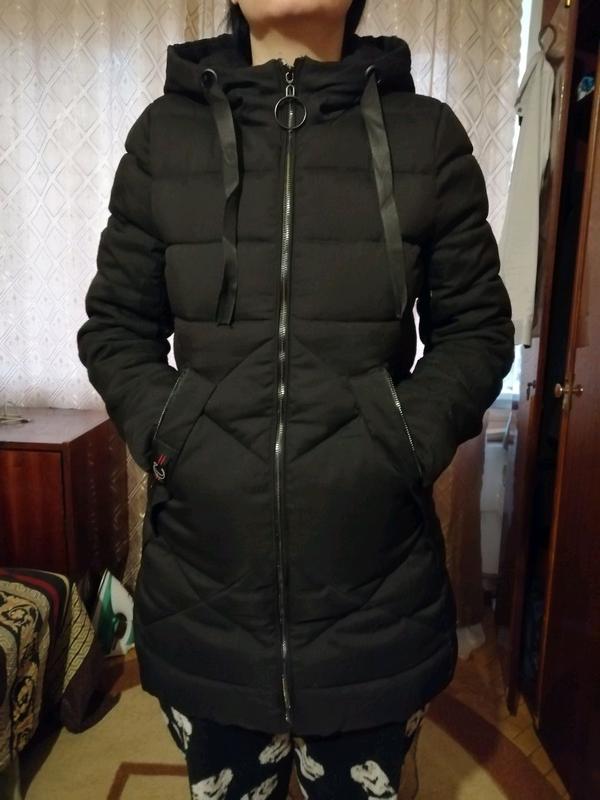 Теплая зимняя куртка в хорошем состоянии размер 42-44