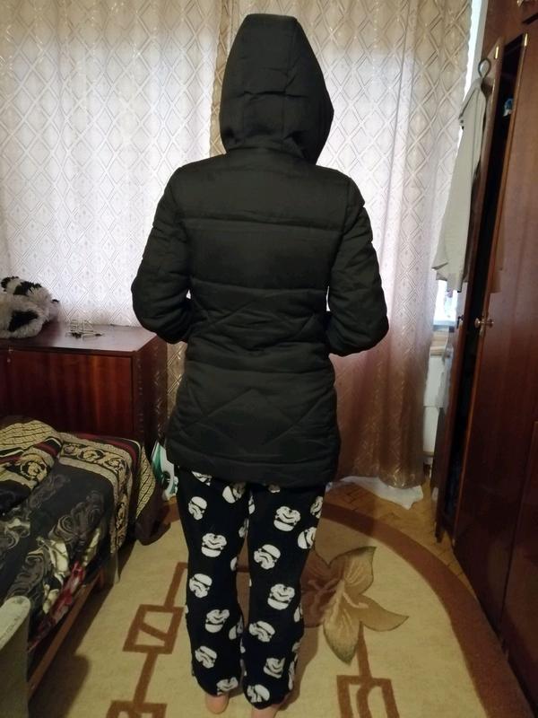 Теплая зимняя куртка в хорошем состоянии размер 42-44 - Фото 6