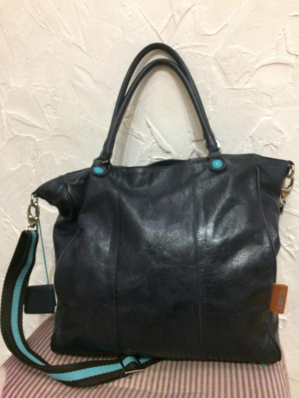 Gabs классная большая сумка 2в1 100% кожа