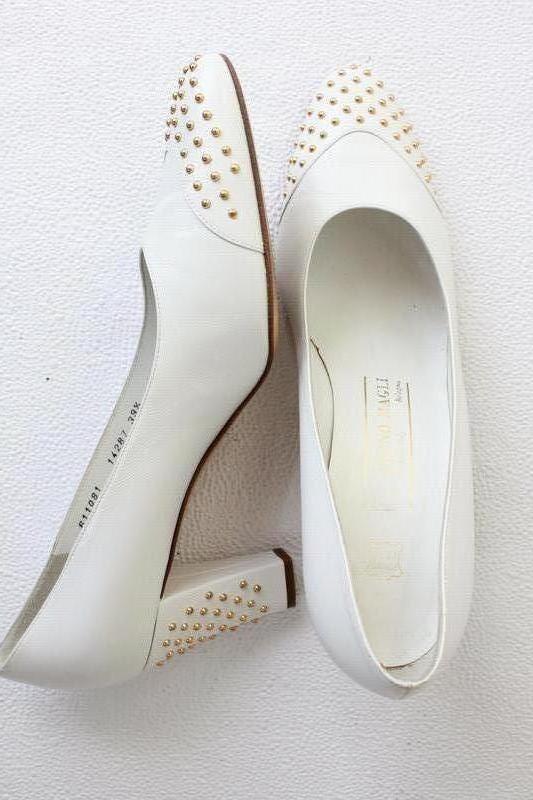 Нарядные кожаные туфли bruno magli италия