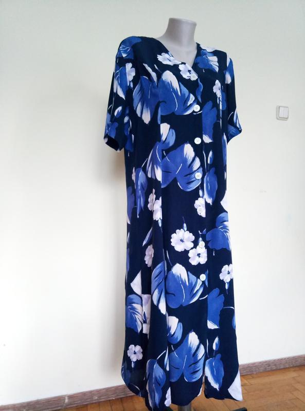 Красивое платье на пуговицах
