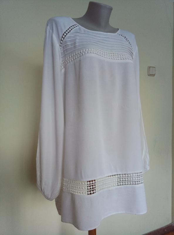 Красивая нарядная блуза 72 размер