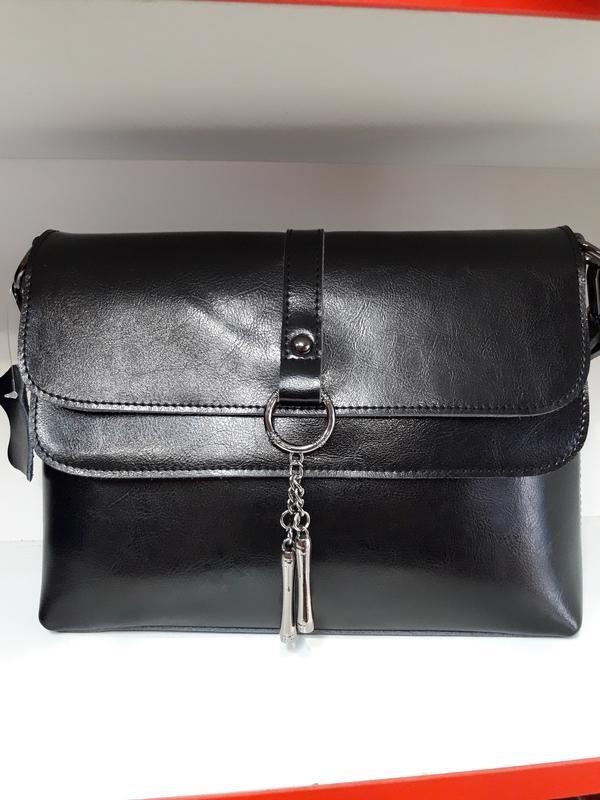 Женская сумочка- клатч из натуральной кожи