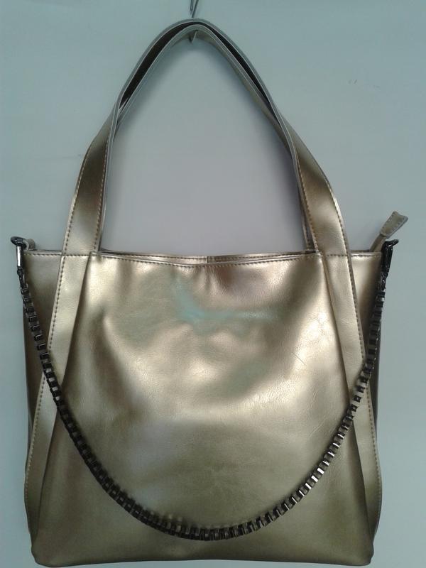 Стильная женская сумочка из натуральной кожи
