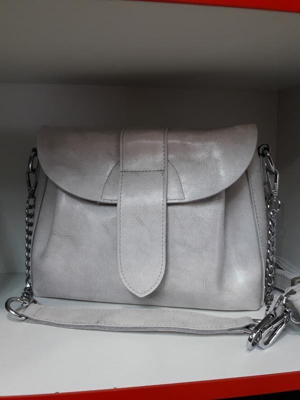 Женская сумочка из натуральной кожи.
