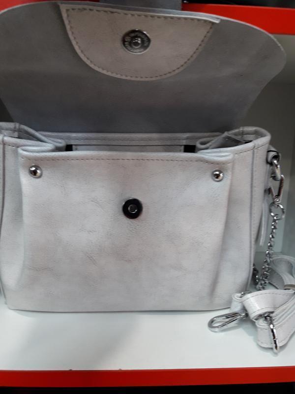 Женская сумочка из натуральной кожи. - Фото 4