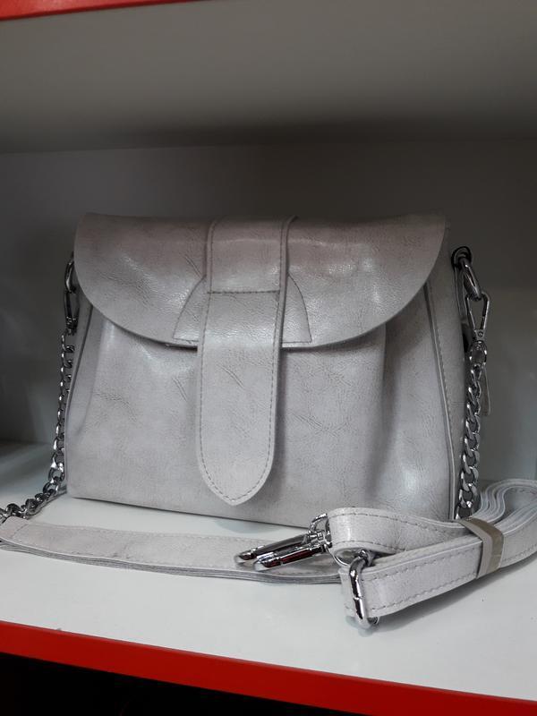 Женская сумочка из натуральной кожи. - Фото 8