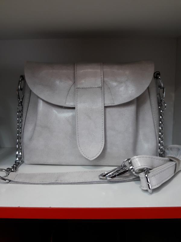 Женская сумочка из натуральной кожи. - Фото 9