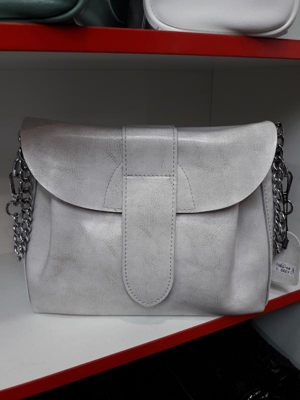 Женская сумочка из натуральной кожи. - Фото 10