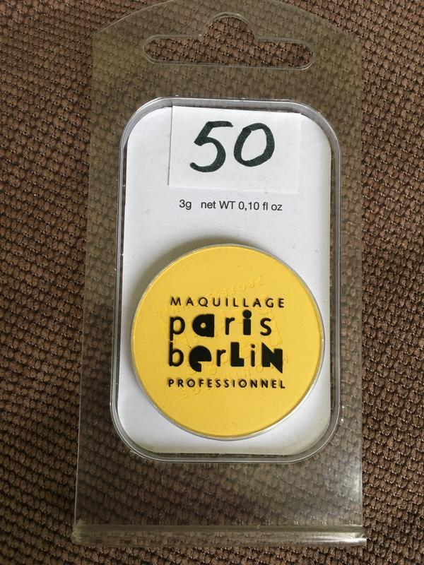 Paris berlin яркие жёлтые матовые тени франция