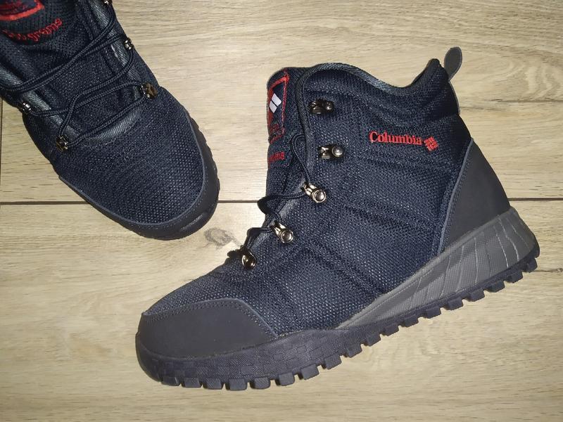 Зимние теплые термо ботинки мужские columbia waterproof зима