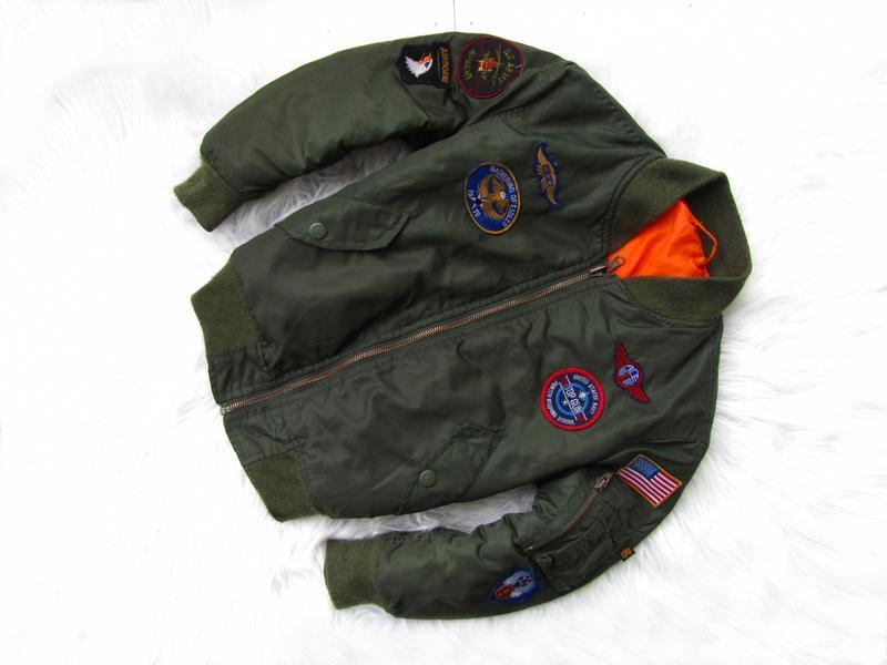 Стильная демисезонная  куртка бомбер