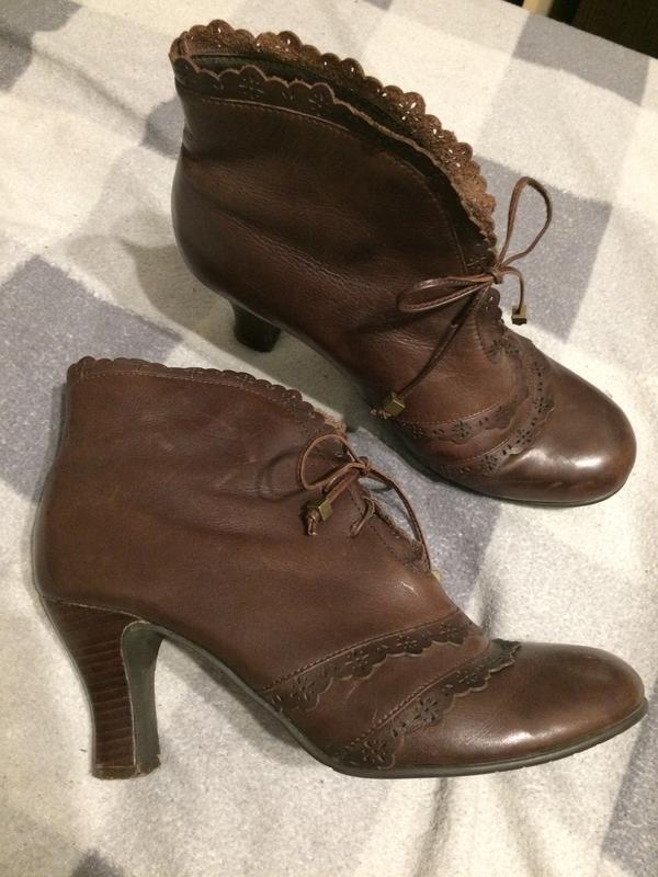 Roots кожаные ботинки ботильоны