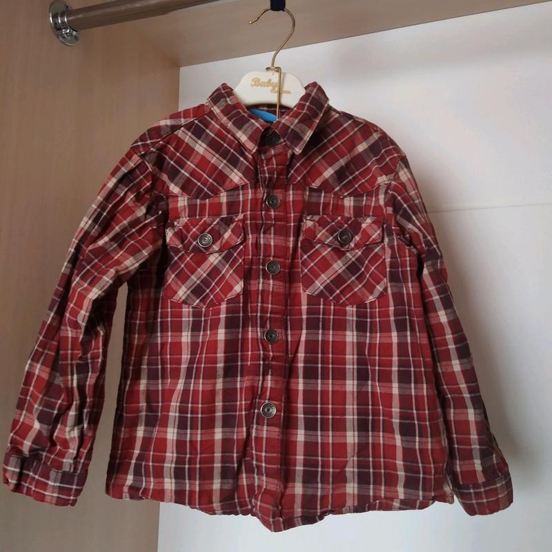 Рубашка на мальчика на кнопках