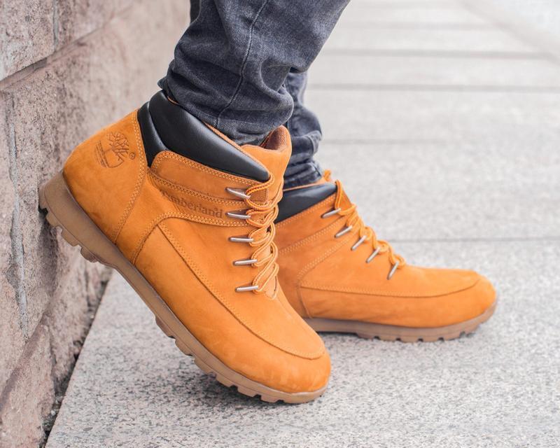 🍁timberland🍁мужские кожаные ботинки тимберленд, осенние/весенн...