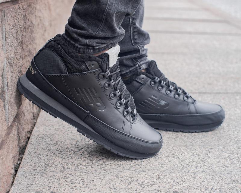 ✳️new balance black✳️зимние мужские кроссовки/ботинки, кожаные...