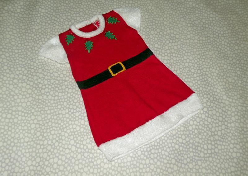 Новогоднее платье 3-4 года