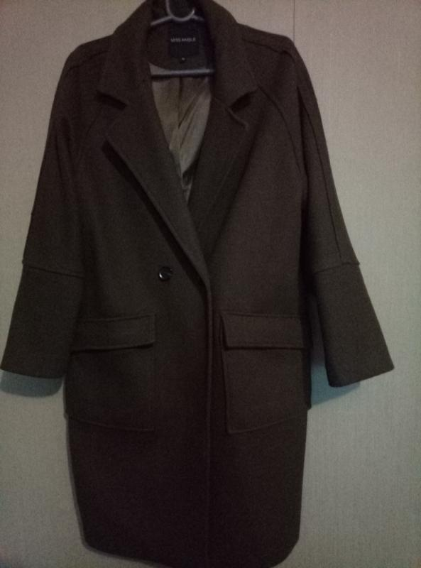 Пальто шерсть бренд miss angel