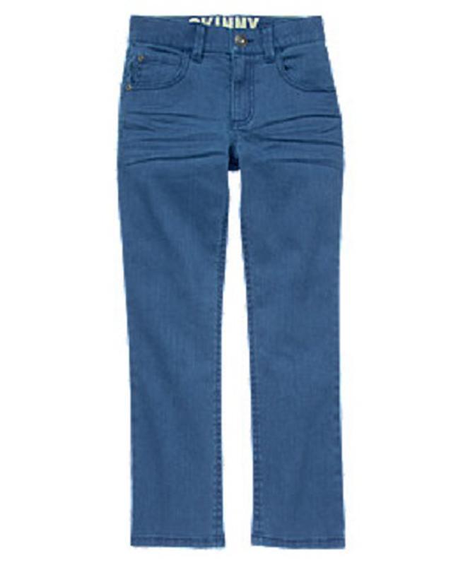 Стрейчовые lжинсы скинни для мальчика 5-6 лет gymboree