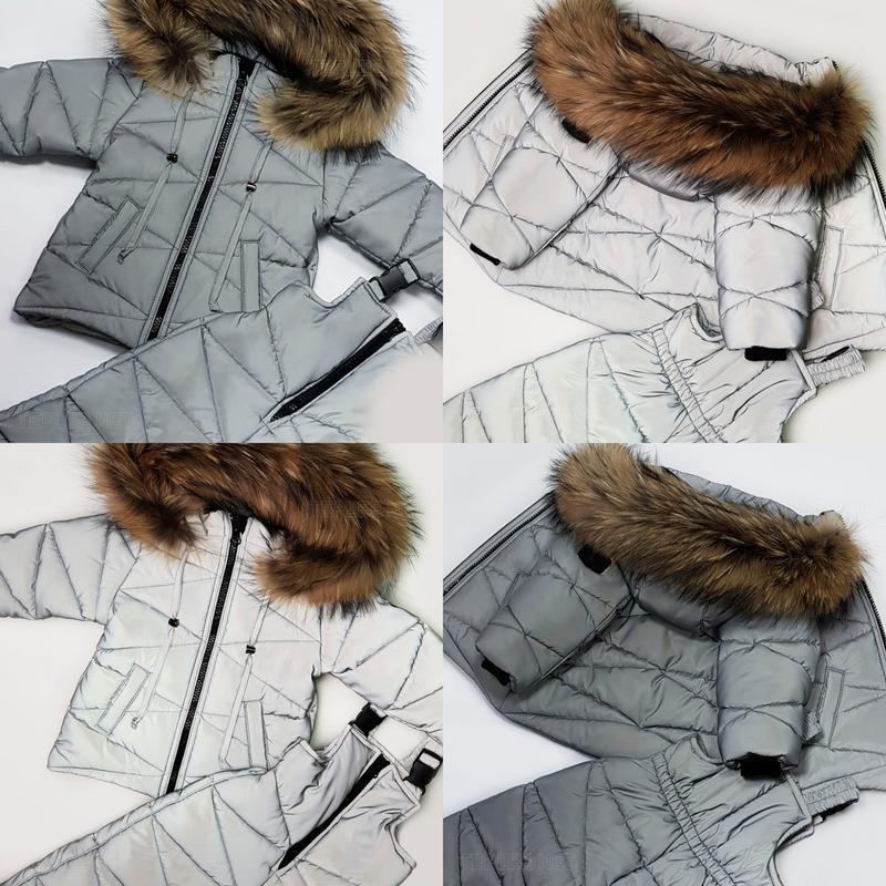 Детский зимний комбинезон (куртка + полукомбинезон)