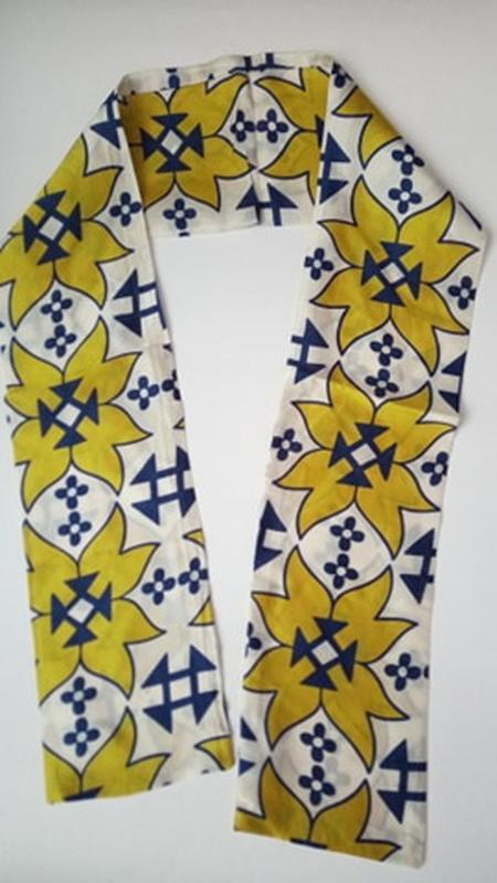 7-26 хустинка стрічка лента шарфик платок для волос, на шею, н...