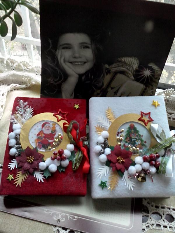 Фотоальбомы новогодние. Эксклюзивные подарки ручной работы