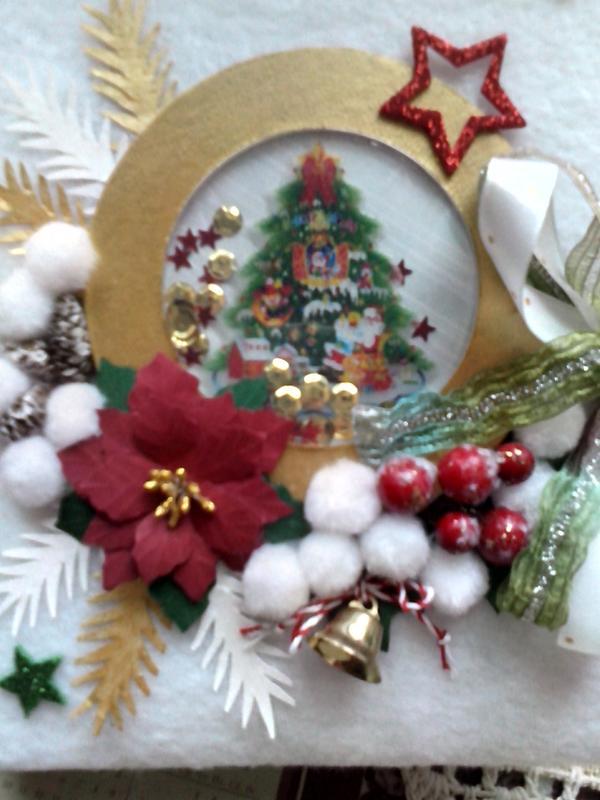 Фотоальбомы новогодние. Эксклюзивные подарки ручной работы - Фото 2