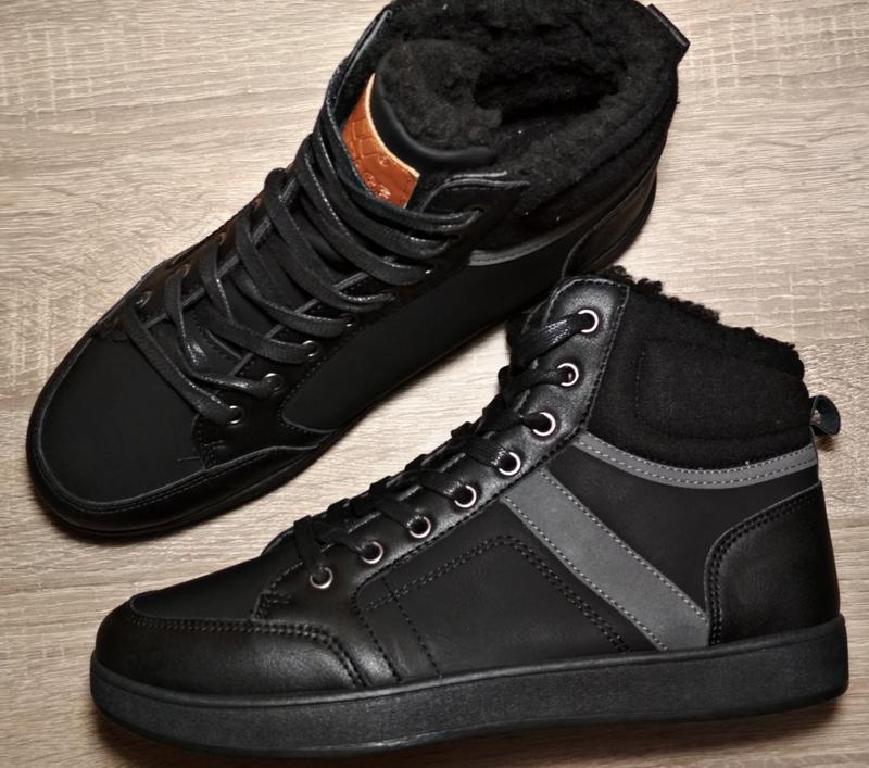 Чоловічі зимові черевики мужские зимние ботинки