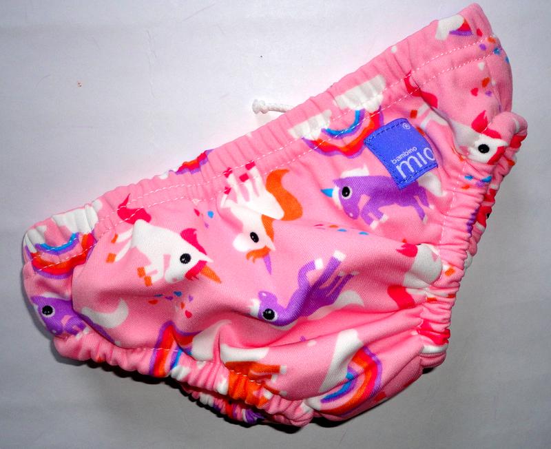 Плавки для девочки с памперсом 9-12мес единорог 9-12 кг