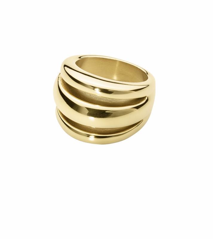 Кольцо лимонное золото стильное модное дорогой  бренд dyrberg ...