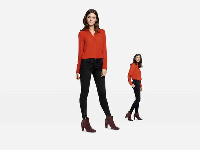 Шикарные джинсы super skinny с замочками esmara германия, колл...