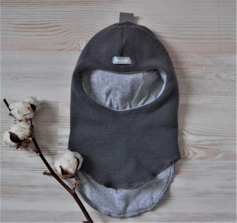 Зимний шлем шапка beezy шерсть хлопок