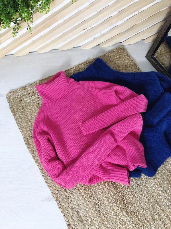 Тёплый, шерстяной свитер с высоким горлом от mads norgaard