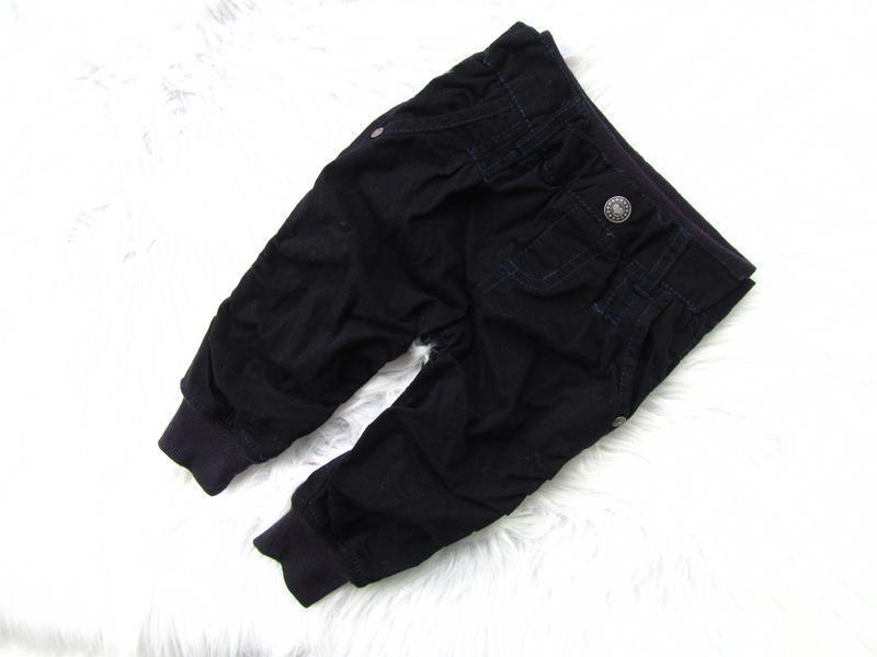 Стильные утепленные джинси штаны брюки