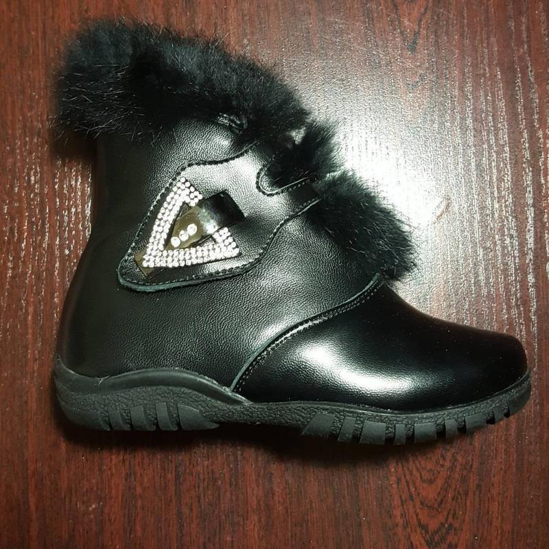 Зимние натуральные ботинки alvadi