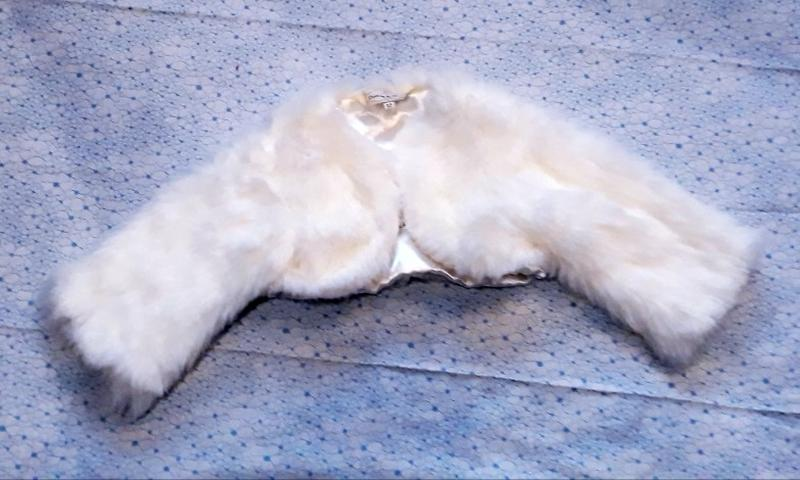 Болеро меховое девочке 3-5 лет