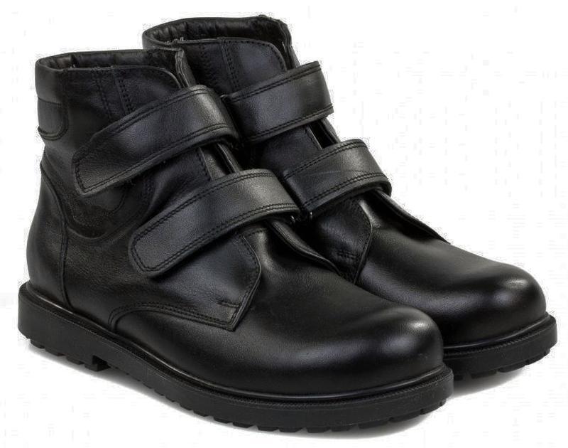 Оригинал - кожаные зимние ботинки тм braska