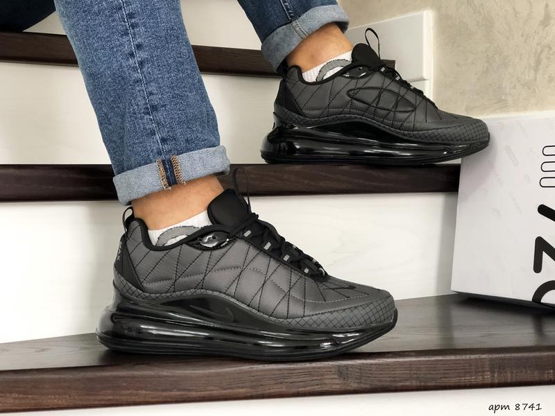 Nike air max 720 grey мужские демисезонные кроссовки найк осен...